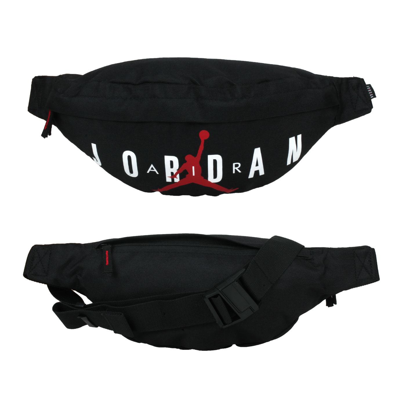 NIKE JORDAN 小型腰包 JD2143011GS-001 - 黑白紅