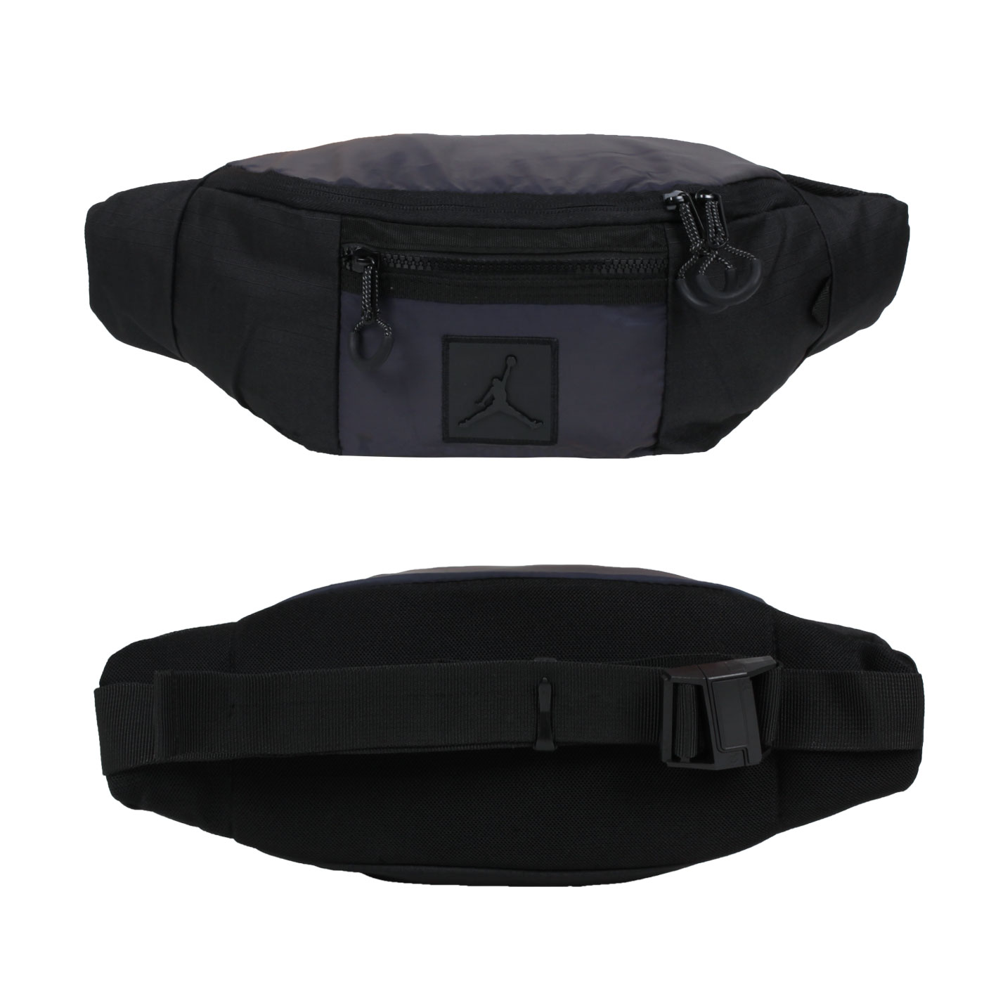 NIKE JORDAN 中型腰包 JD2143012GS-001 - 黑紫綠
