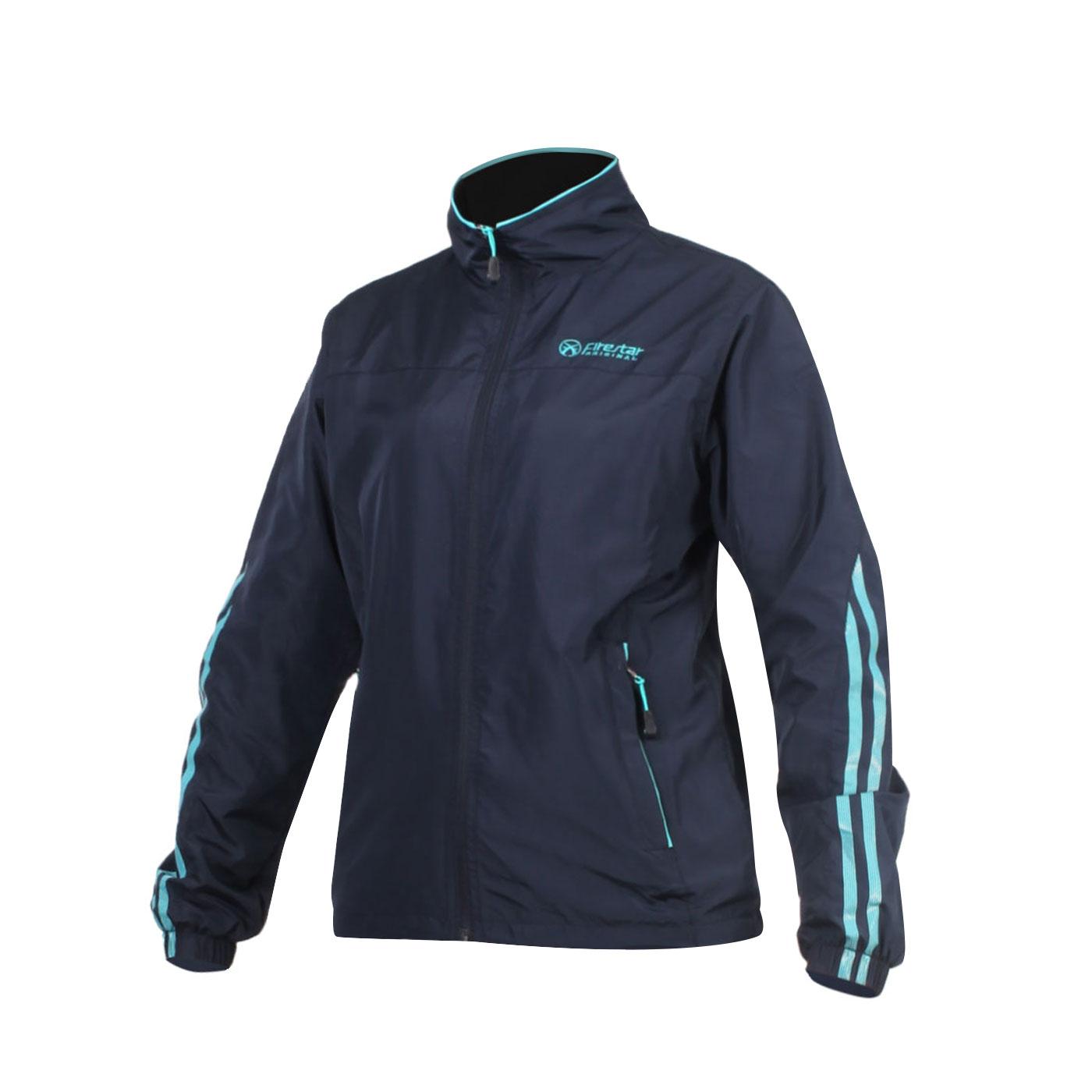 FIRESTAR 女款防水防風磨毛裏夾克 JL563-10 - 丈青水藍