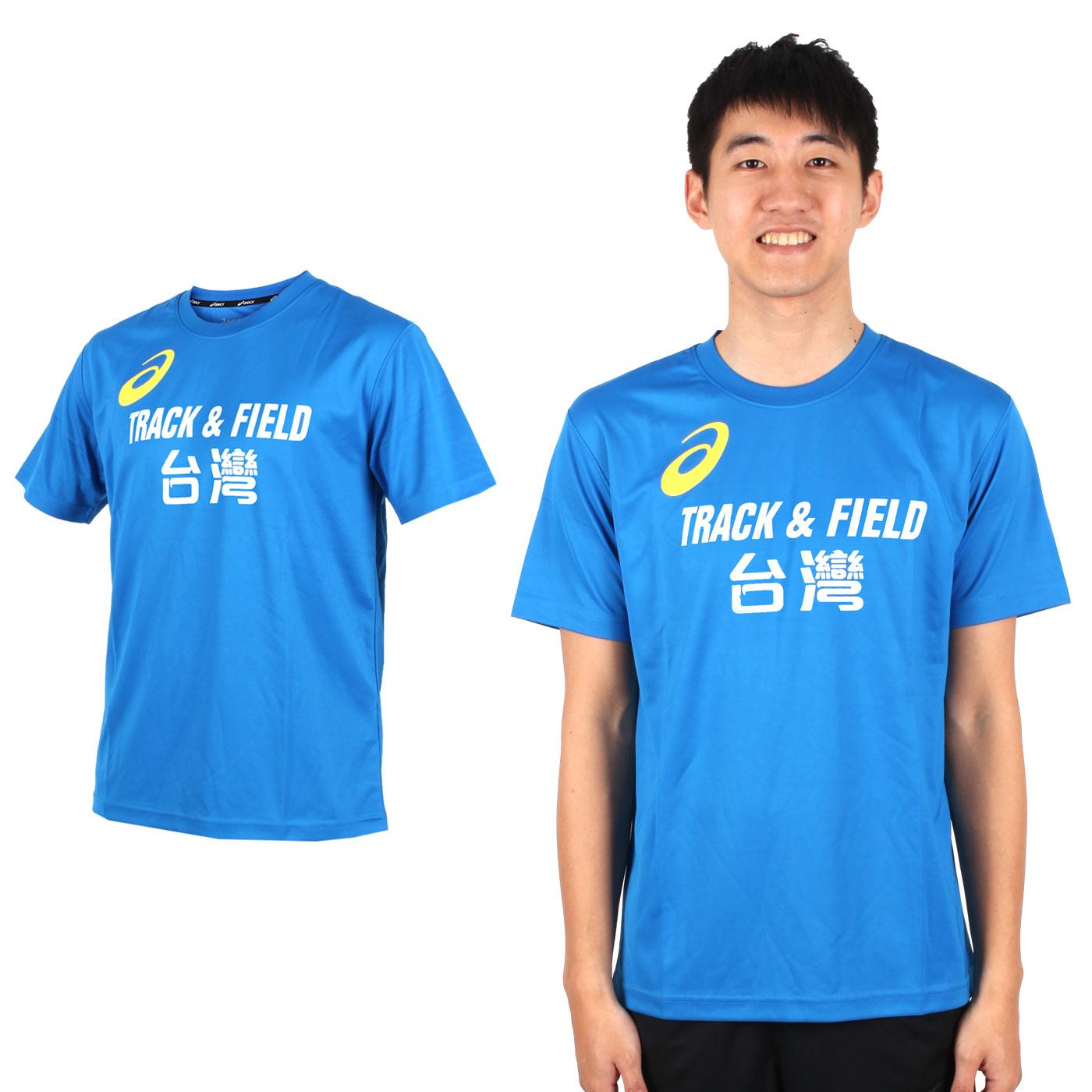 ASICS  LOGO 台灣TRACK AND FIELD獨家款K11613-43TAF - 藍黃