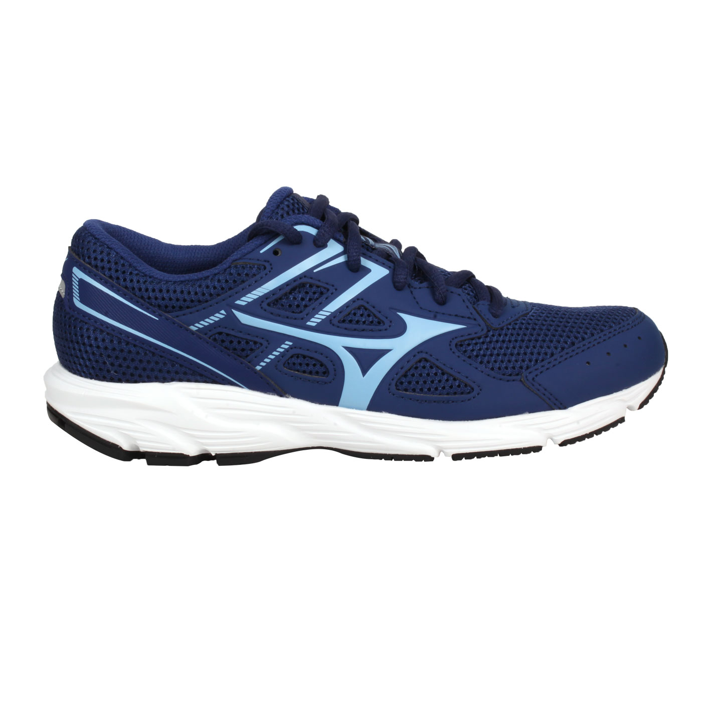 MIZUNO 女款慢跑鞋-WIDE  @MAXIMIZER 23@K1GA210113 - 藍水藍