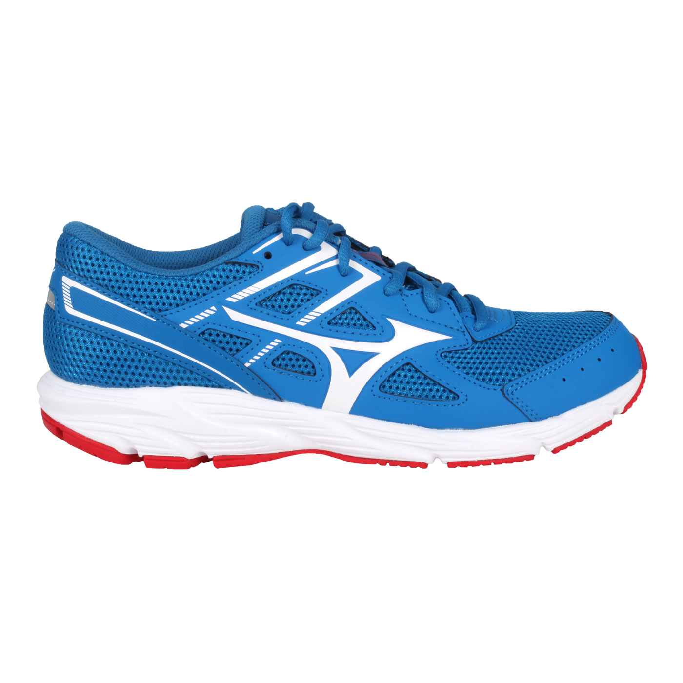 MIZUNO 男款慢跑鞋  @ SPARK 6@K1GA210302 - 藍白紅