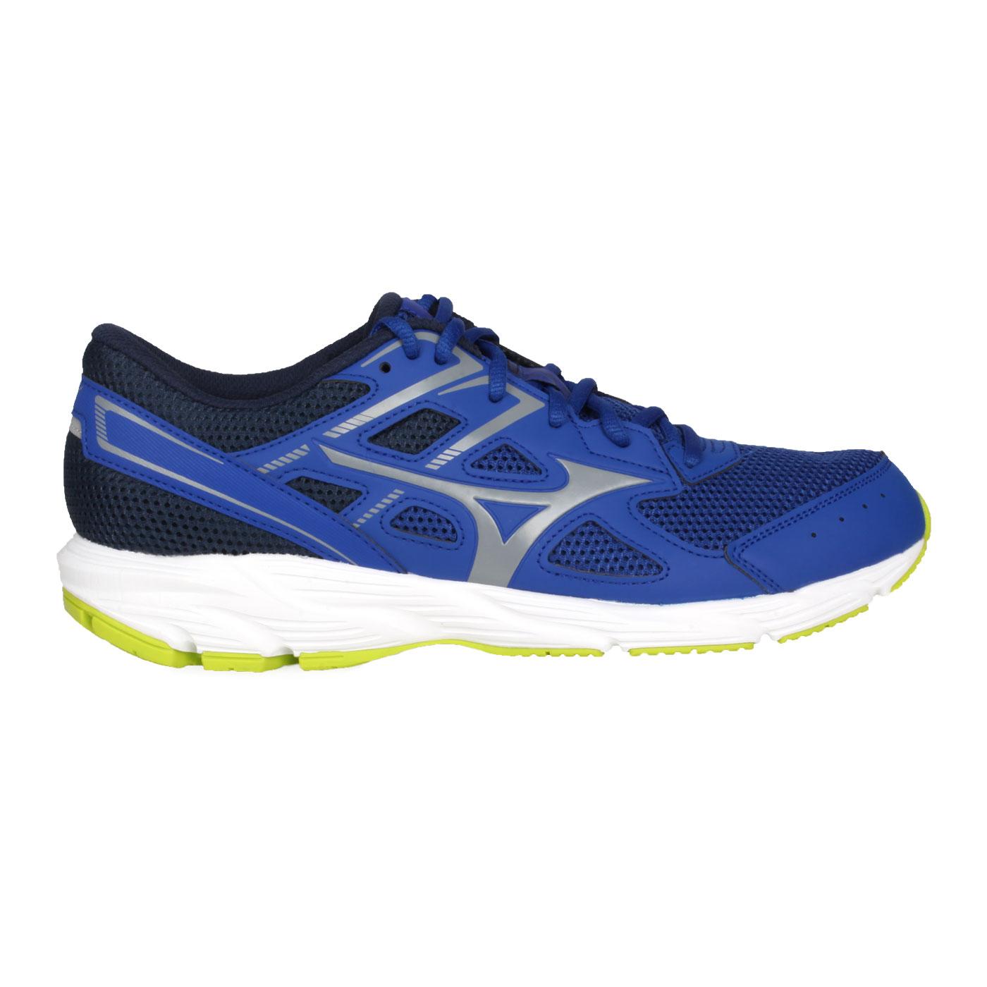 MIZUNO 男款慢跑鞋  @ SPARK 6@K1GA210340 - 丈青藍灰