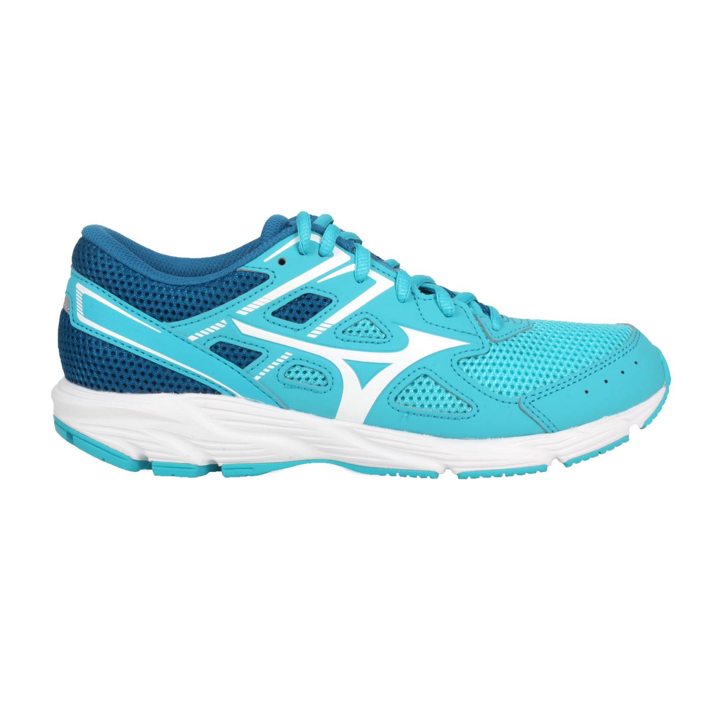 MIZUNO 女款慢跑鞋  @ SPARK 6@K1GA210402 - 藍湖水綠白