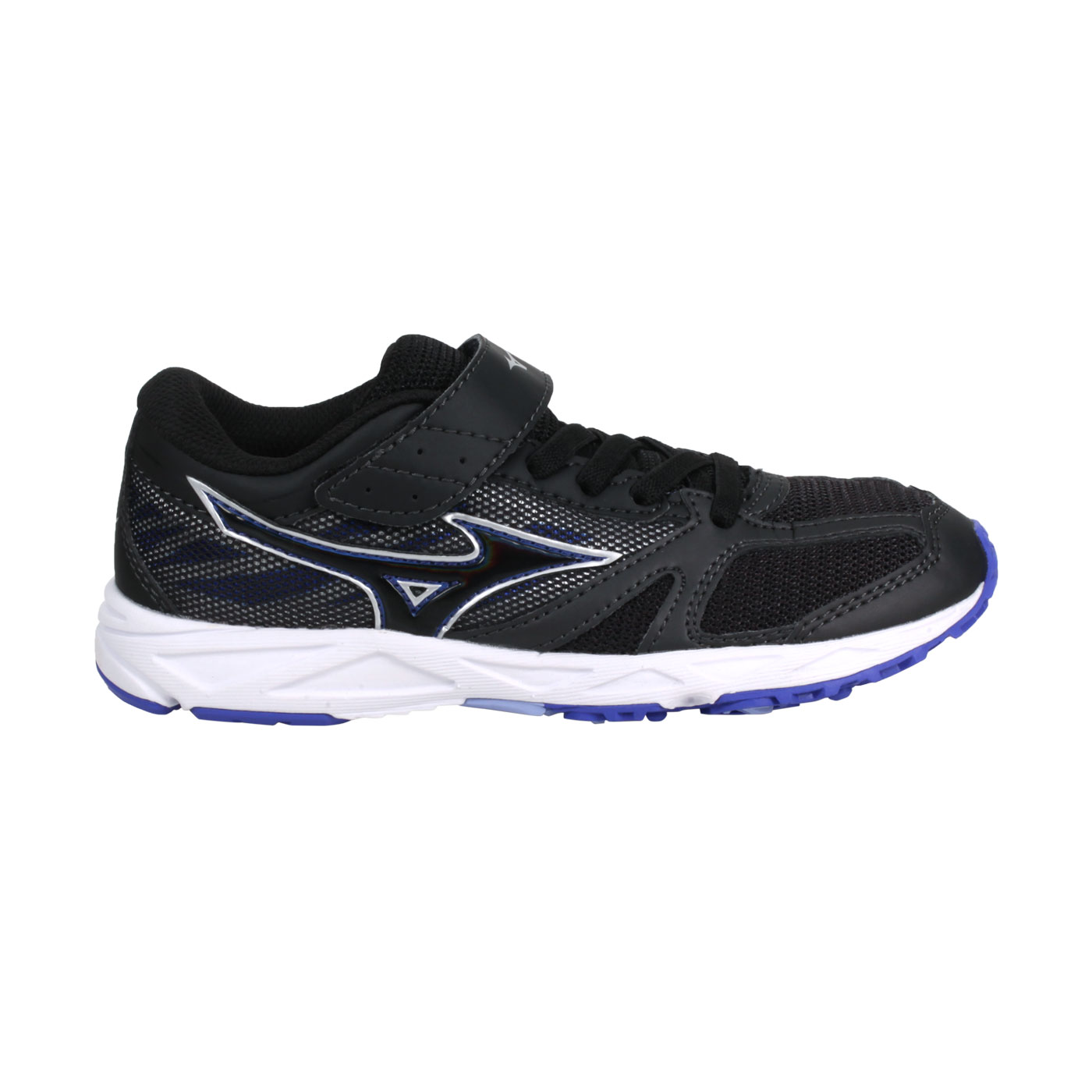 MIZUNO 中童慢跑鞋  @SPEED STUDS BELT@K1GC194011 - 黑藍紫