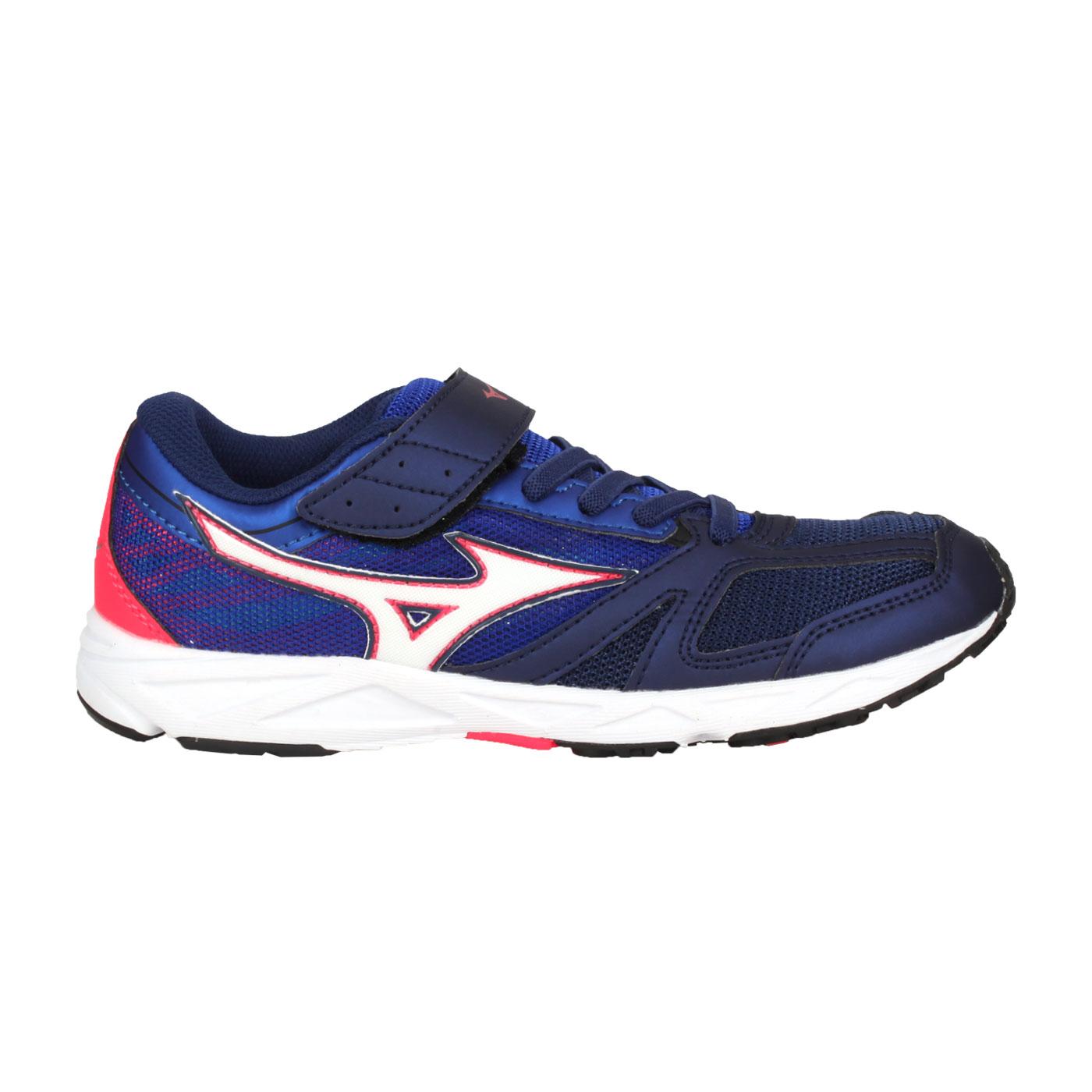 MIZUNO 大童運動鞋  @SPEED STUDS BELT@K1GC194014 - 深藍白粉