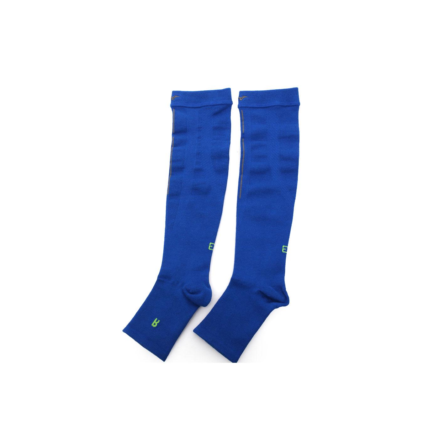 MIZUNO 日製-BG 襪套 K2JJ4A5009 - 藍