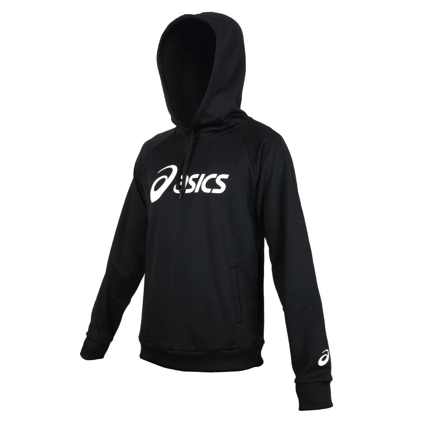 ASICS 長袖連帽T恤 K32014-50 - 黑白