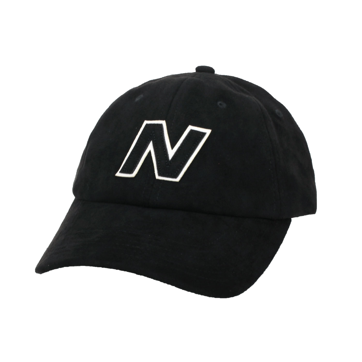 NEW BALANCE 棒球帽 LAH03001BK - 黑白