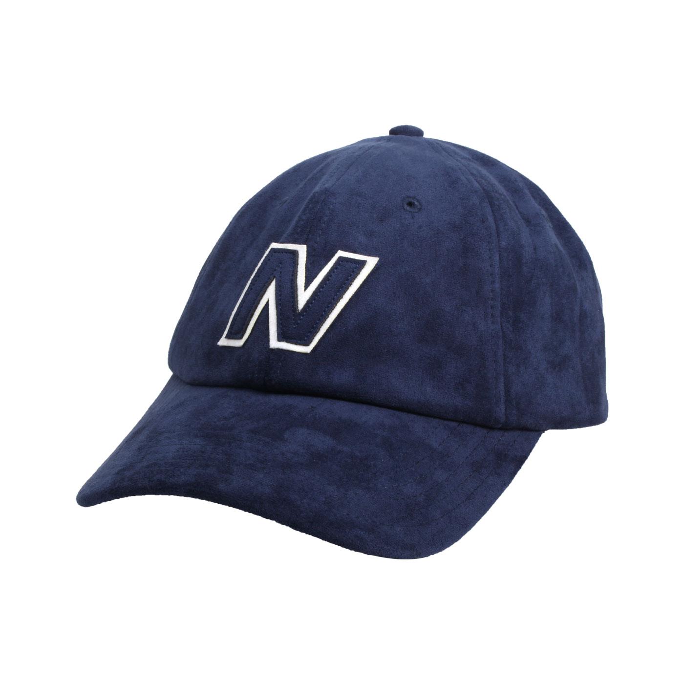 NEW BALANCE 棒球帽 LAH03001TNV - 丈青白