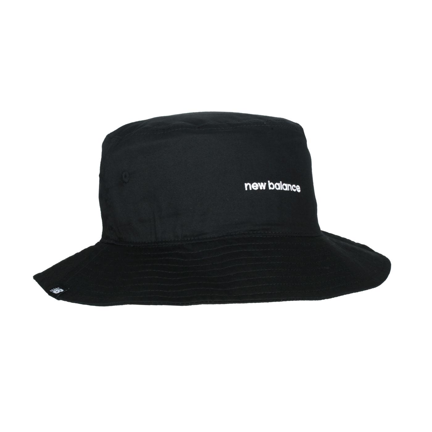 NEW BALANCE 漁夫帽 LAH13003BK - 黑白