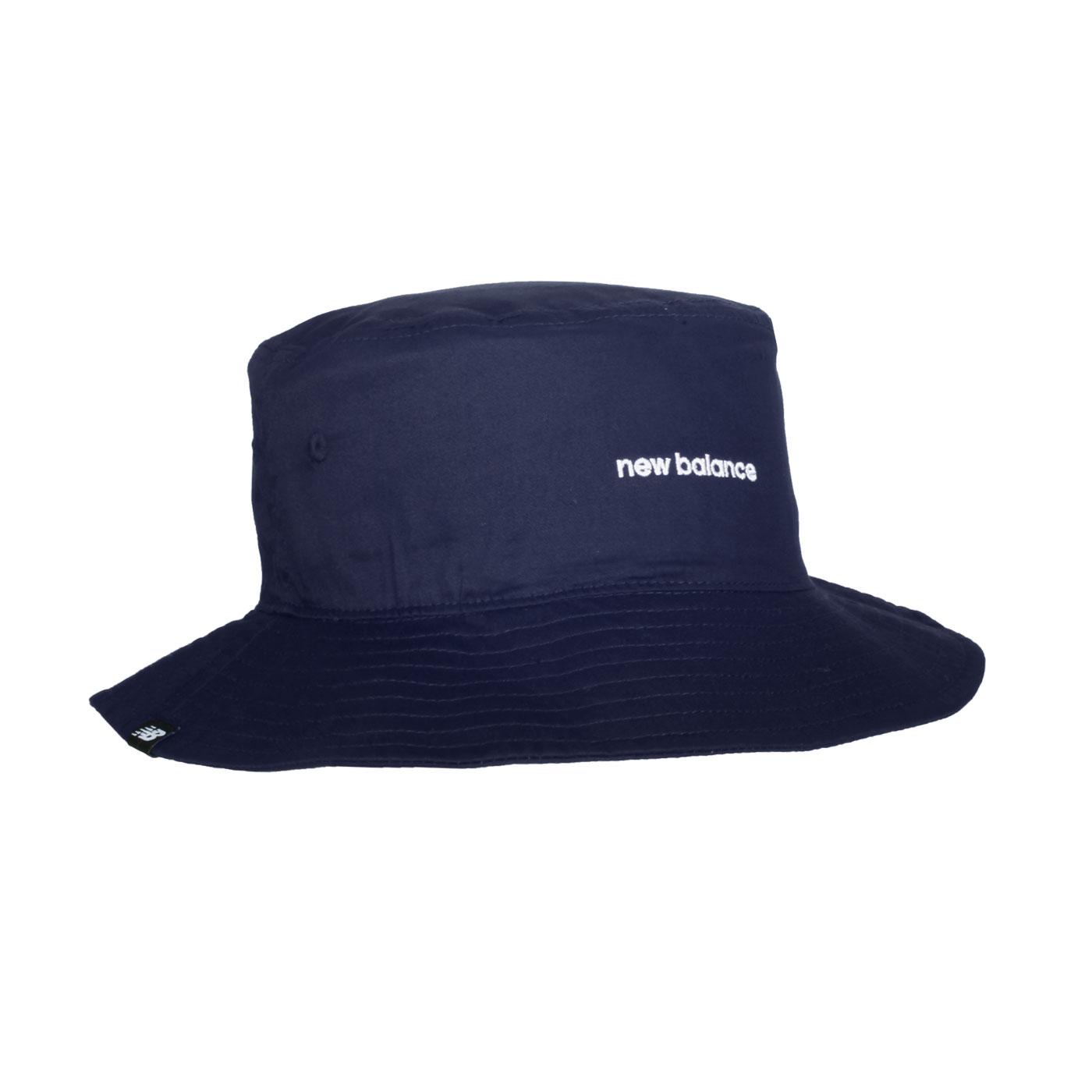 NEW BALANCE 漁夫帽 LAH13003TNV - 丈青白
