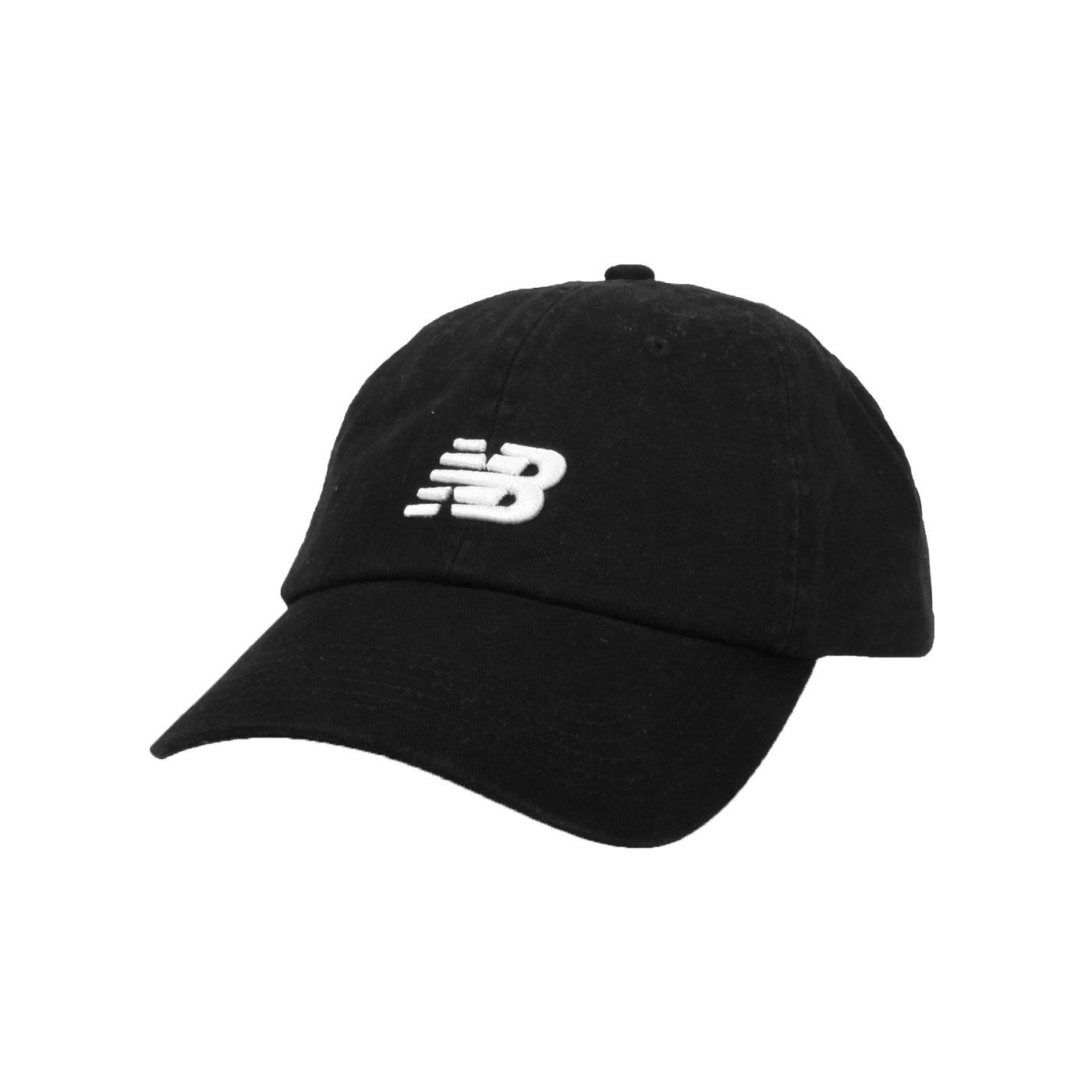 NEW BALANCE 棒球帽 LAH91014BK - 黑白