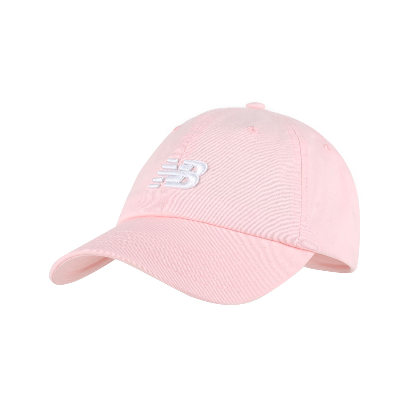 NEW BALANCE 棒球帽 LAH91014BK - 粉白