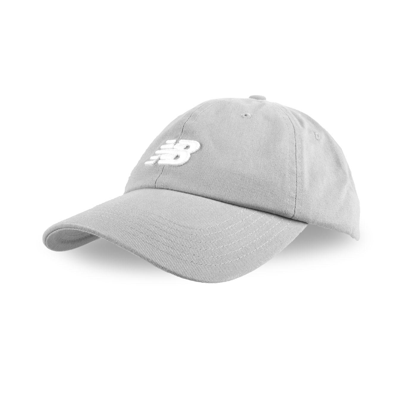 NEW BALANCE 棒球帽 LAH91014BK - 灰白