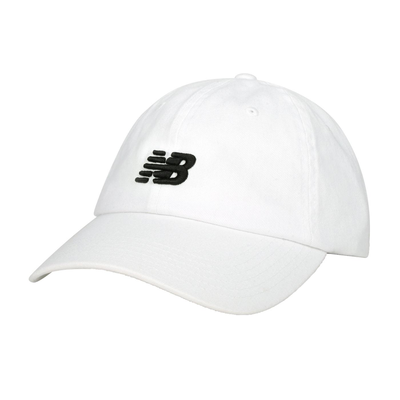 NEW BALANCE 帽子 LAH91014WT - 白黑