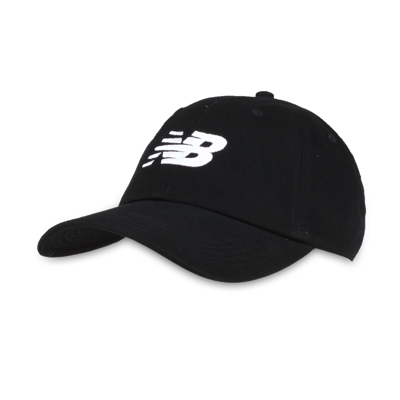 NEW BALANCE 棒球帽 LAH91017BK - 黑白