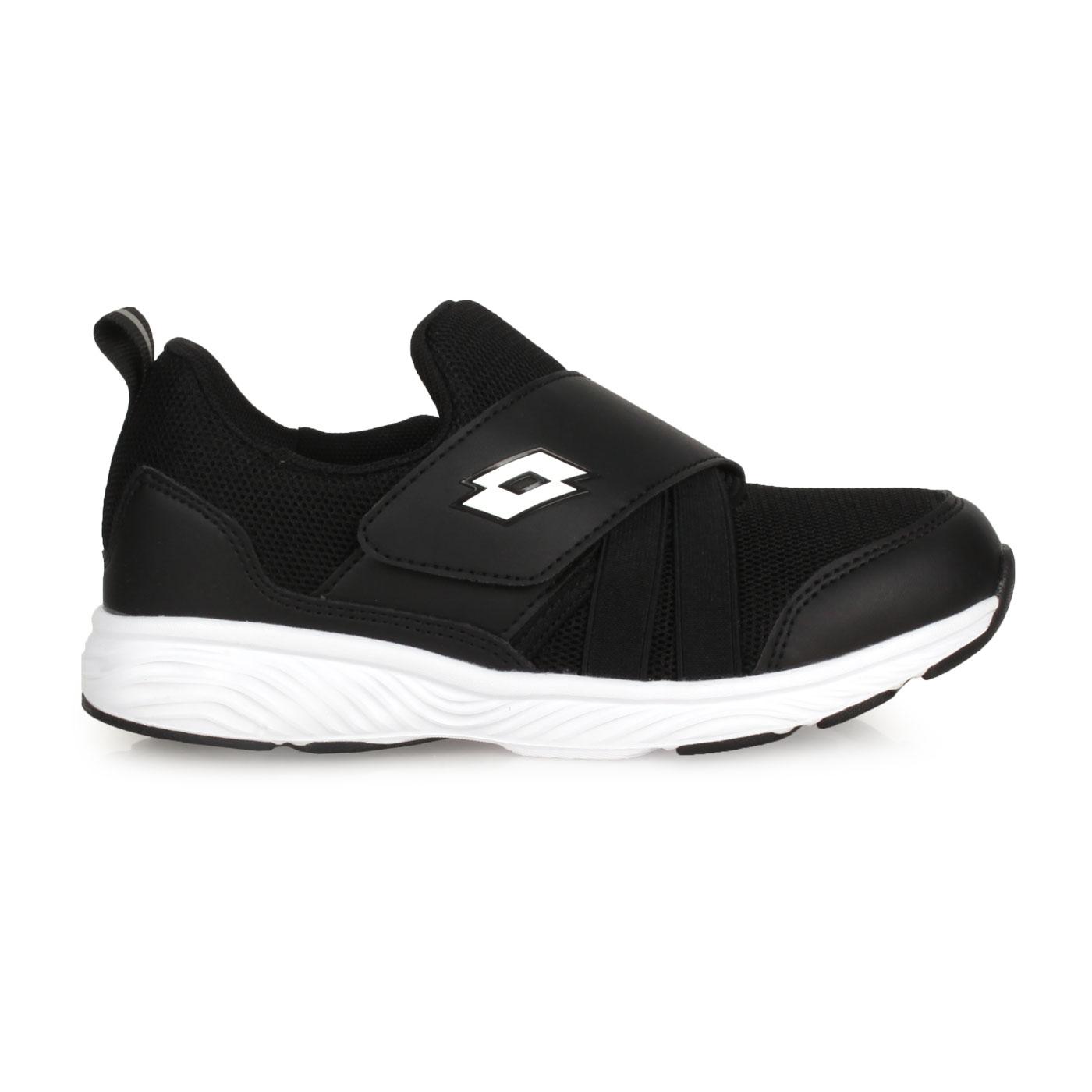 LOTTO 大童活力輕跑鞋 LT0AKR1780 - 黑白