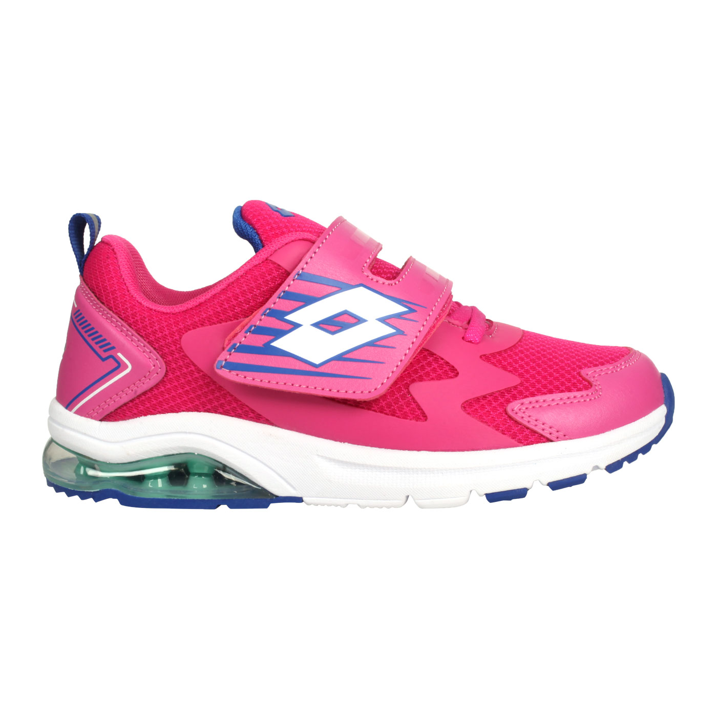 LOTTO FUN RIDE大童輕量氣墊運動鞋 LT0AKR2693 - 桃紅藍