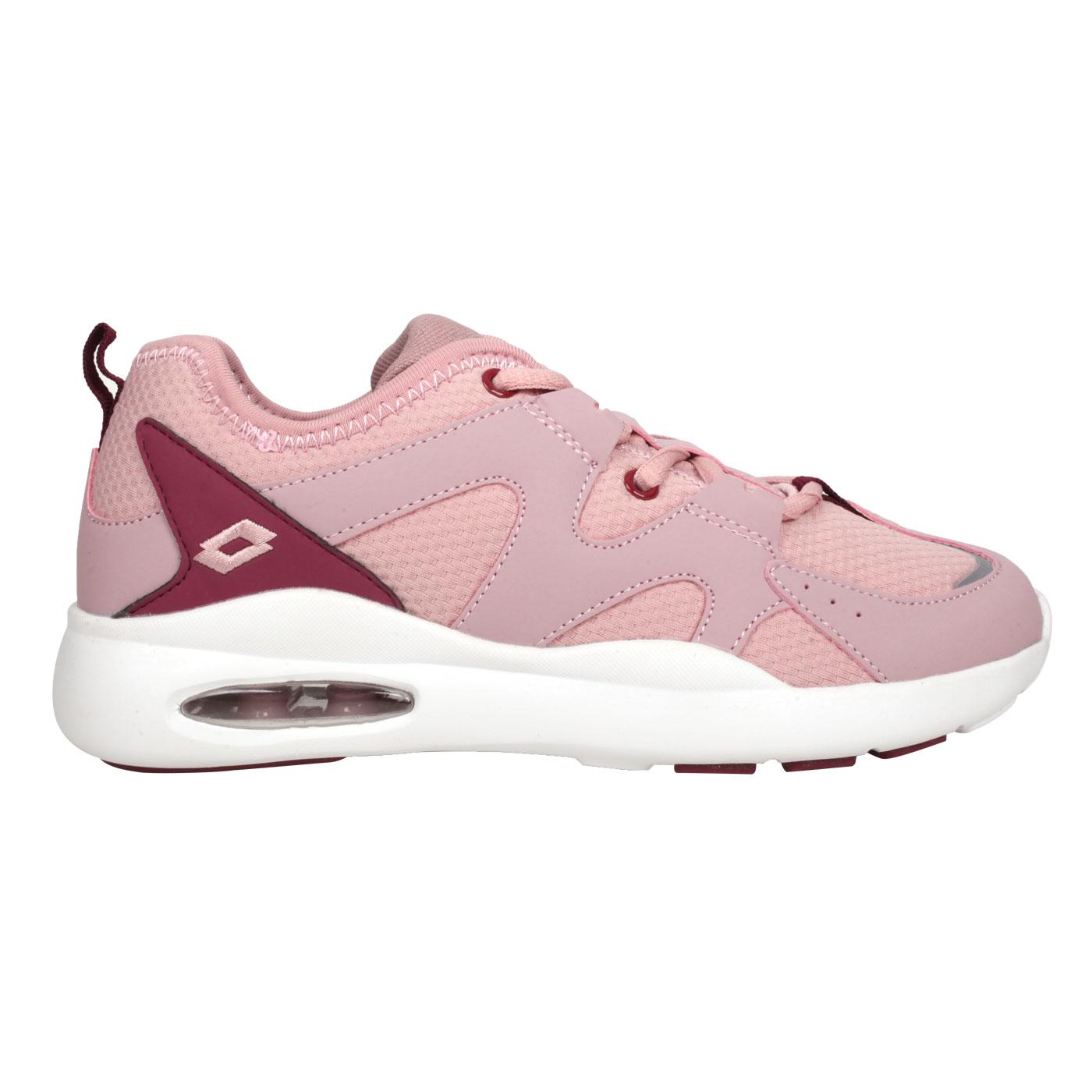 LOTTO 女款輕量氣墊跑鞋 LT0AWR2363 - 粉紫葡萄紫