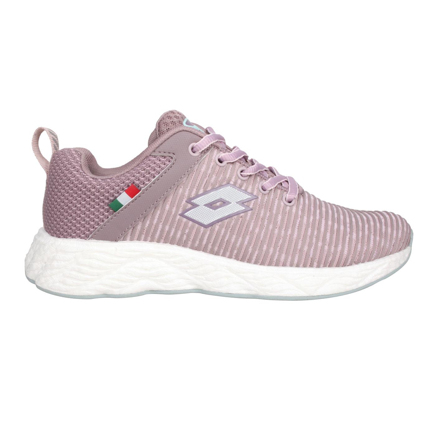 LOTTO 女款休閒慢跑鞋 LT0AWR2537 - 芋紫
