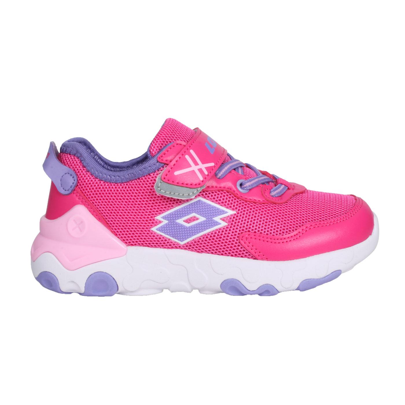 LOTTO 大童超輕量跑鞋 LT1AKR3623 - 桃紅紫