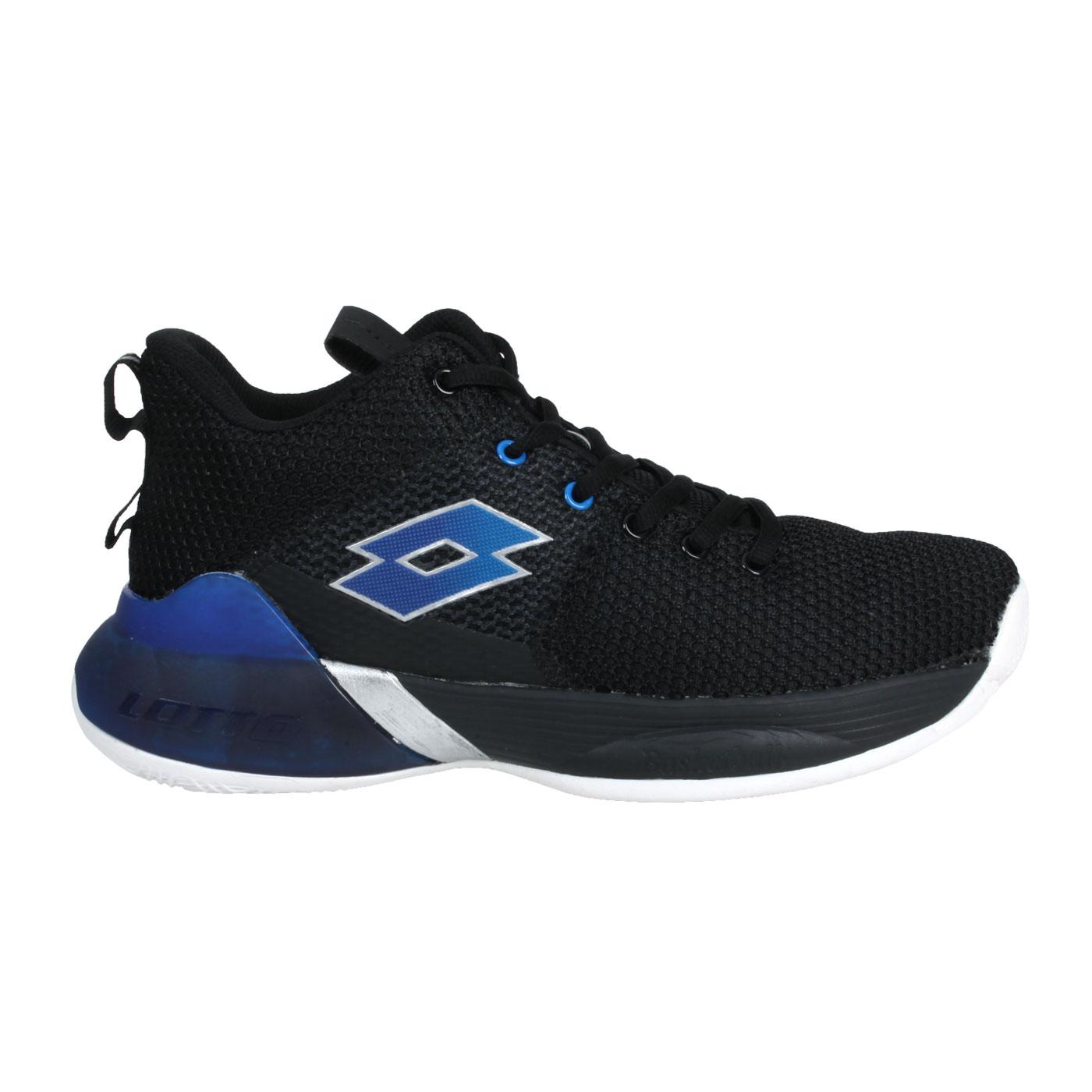 LOTTO 男款ARES戰避震籃球鞋 LT1AMB3720 - 黑藍