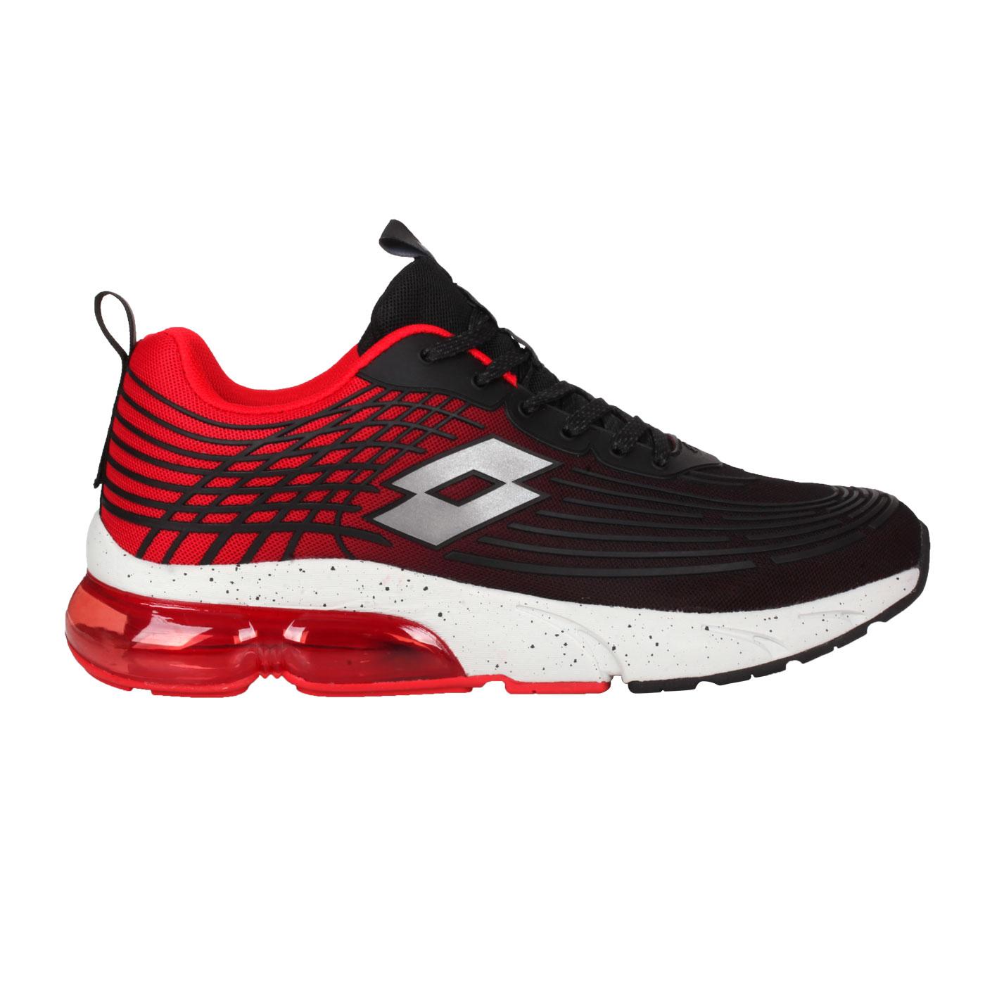 LOTTO 男款休閒運動鞋 LT1AMR3102 - 黑紅銀