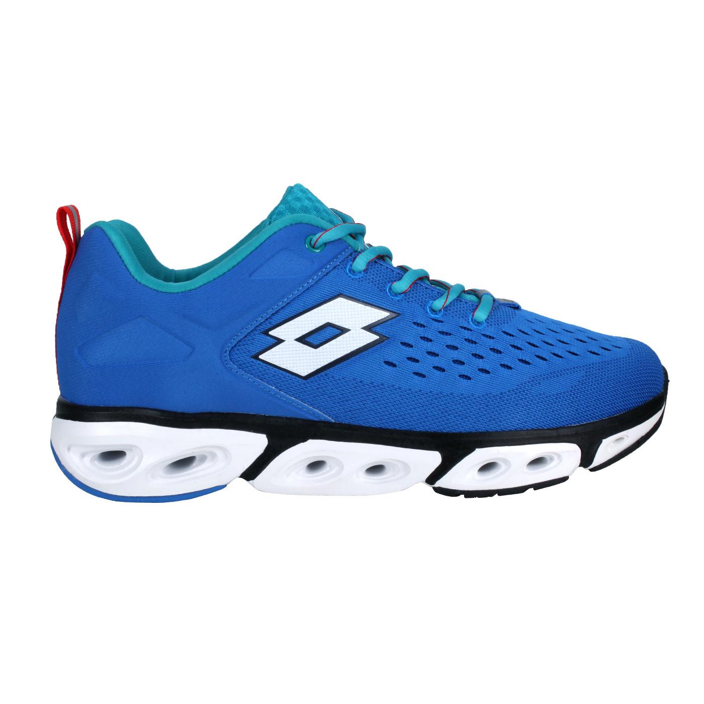 LOTTO 男款風動運動鞋 LT1AMR3596 - 藍綠白