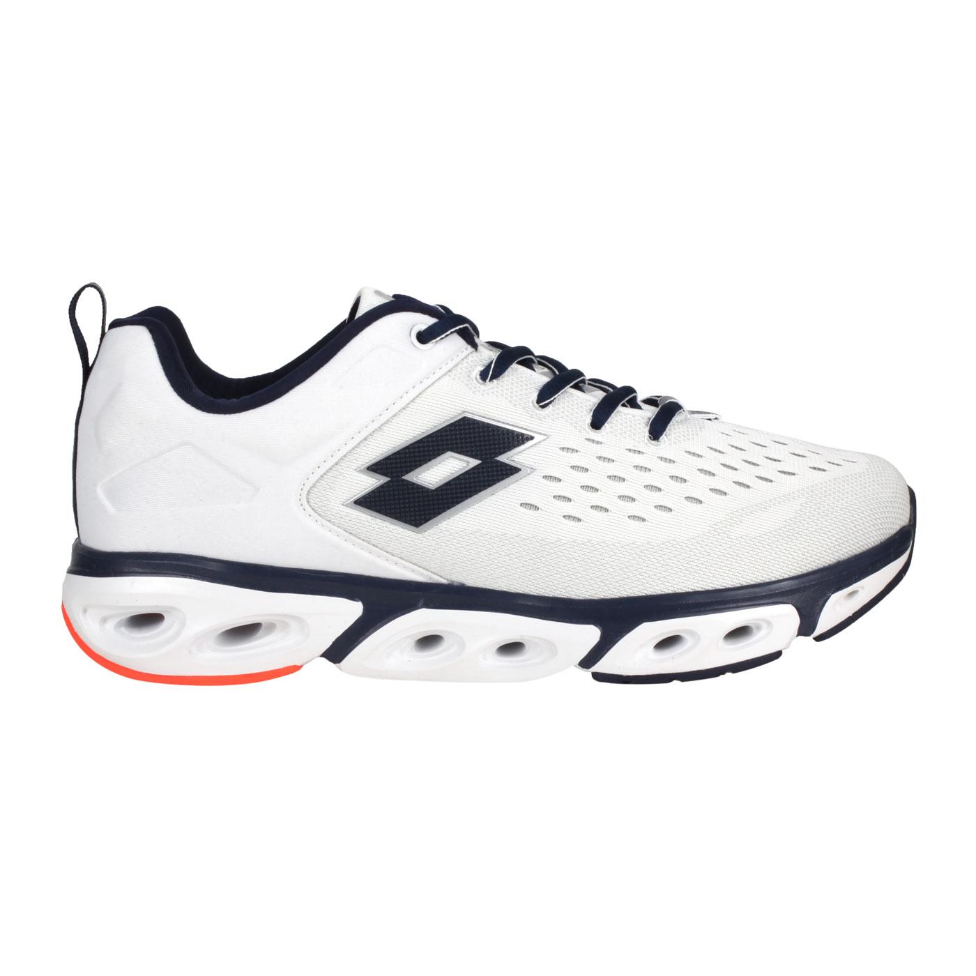 LOTTO 男款風動運動鞋 LT1AMR3599 - 白丈青