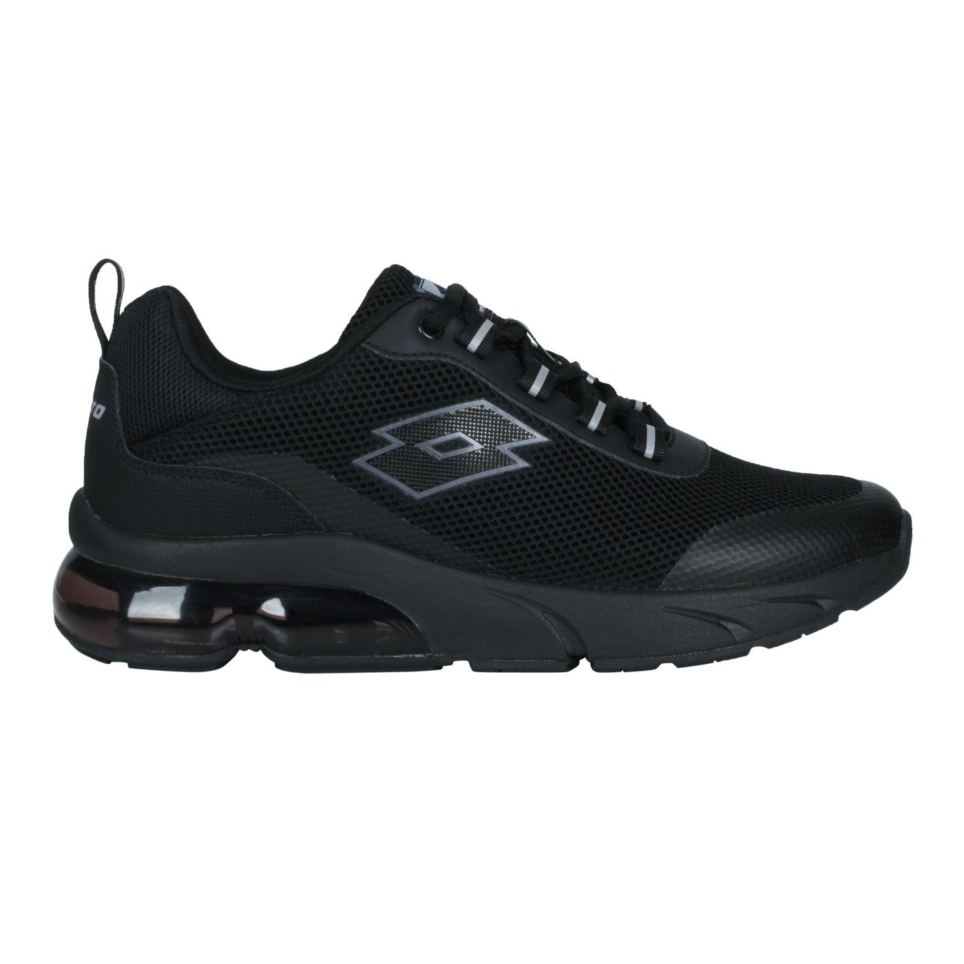 LOTTO 男款AERO POWER II運動鞋 LT1AMR3890 - 黑灰