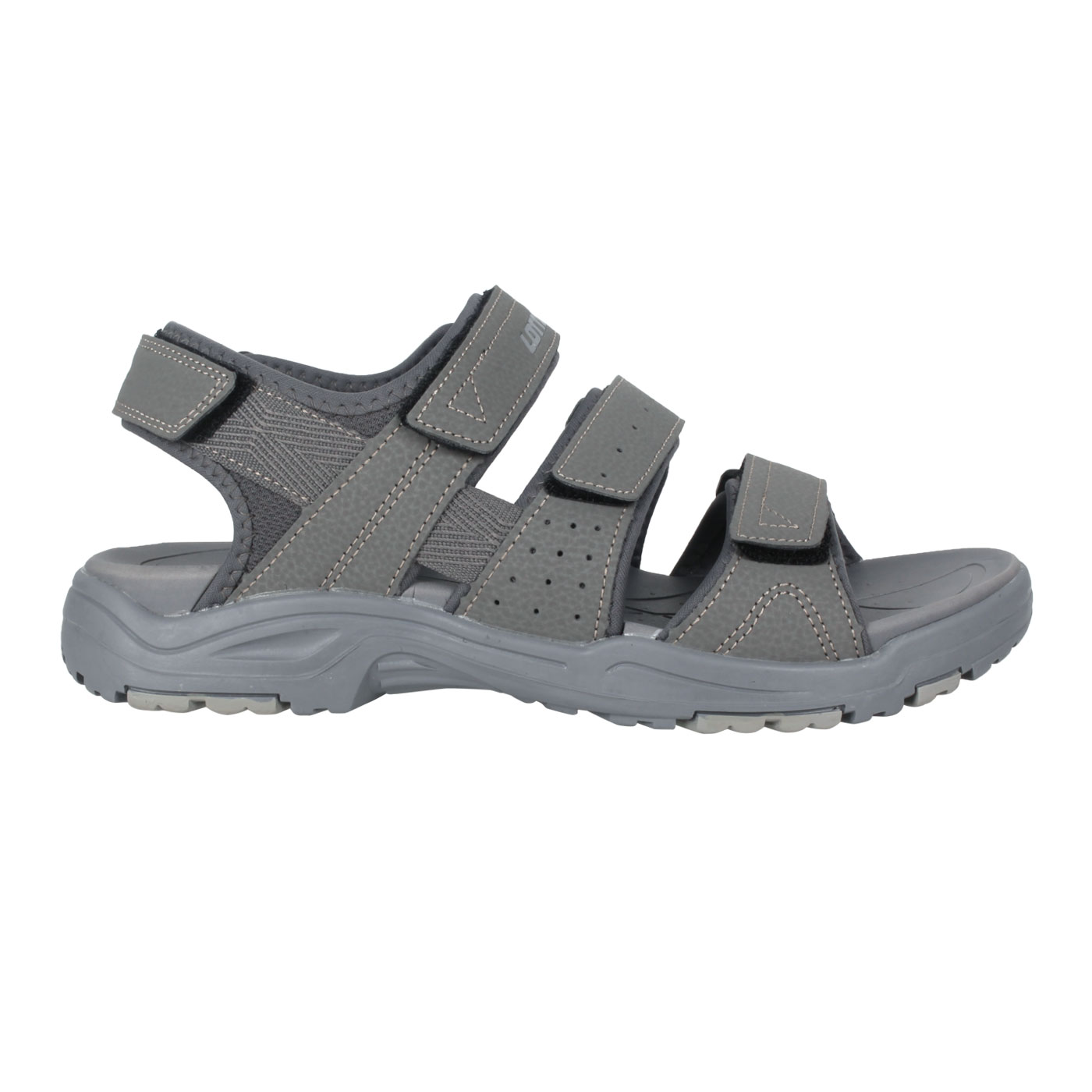 LOTTO 男款運動涼鞋 LT1AMS3358 - 灰