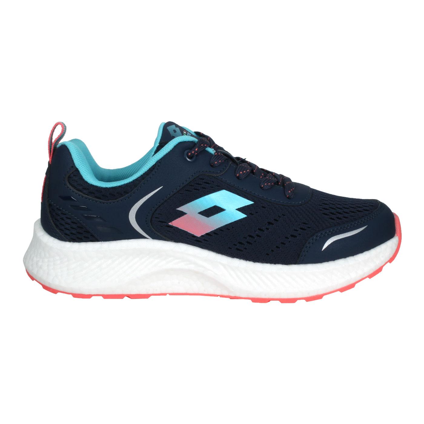LOTTO 女款創跑鞋 LT1AWR3826 - 丈青藍