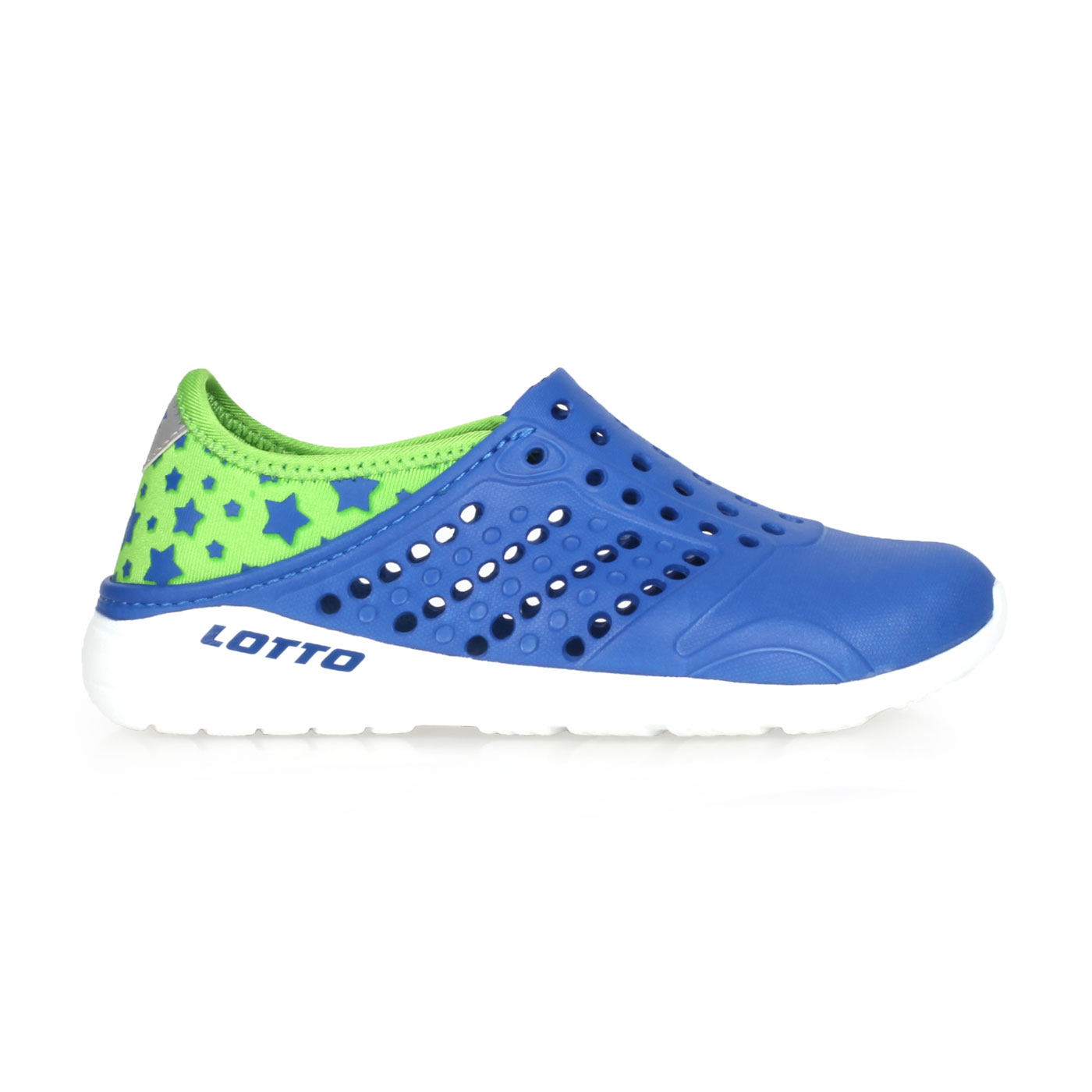LOTTO 大童潮流洞洞鞋 LT8AKS6230 - 藍綠