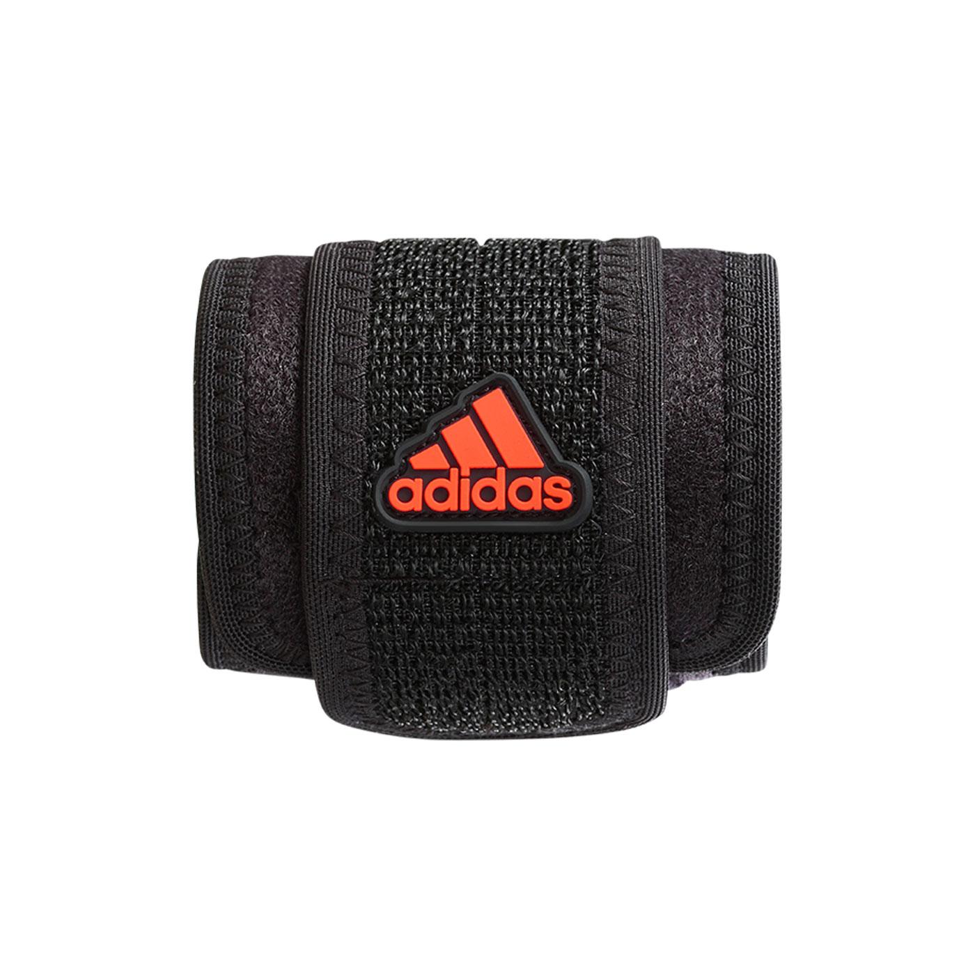 ADIDAS護具 特定-運動護腕 MB0222 - 黑橘