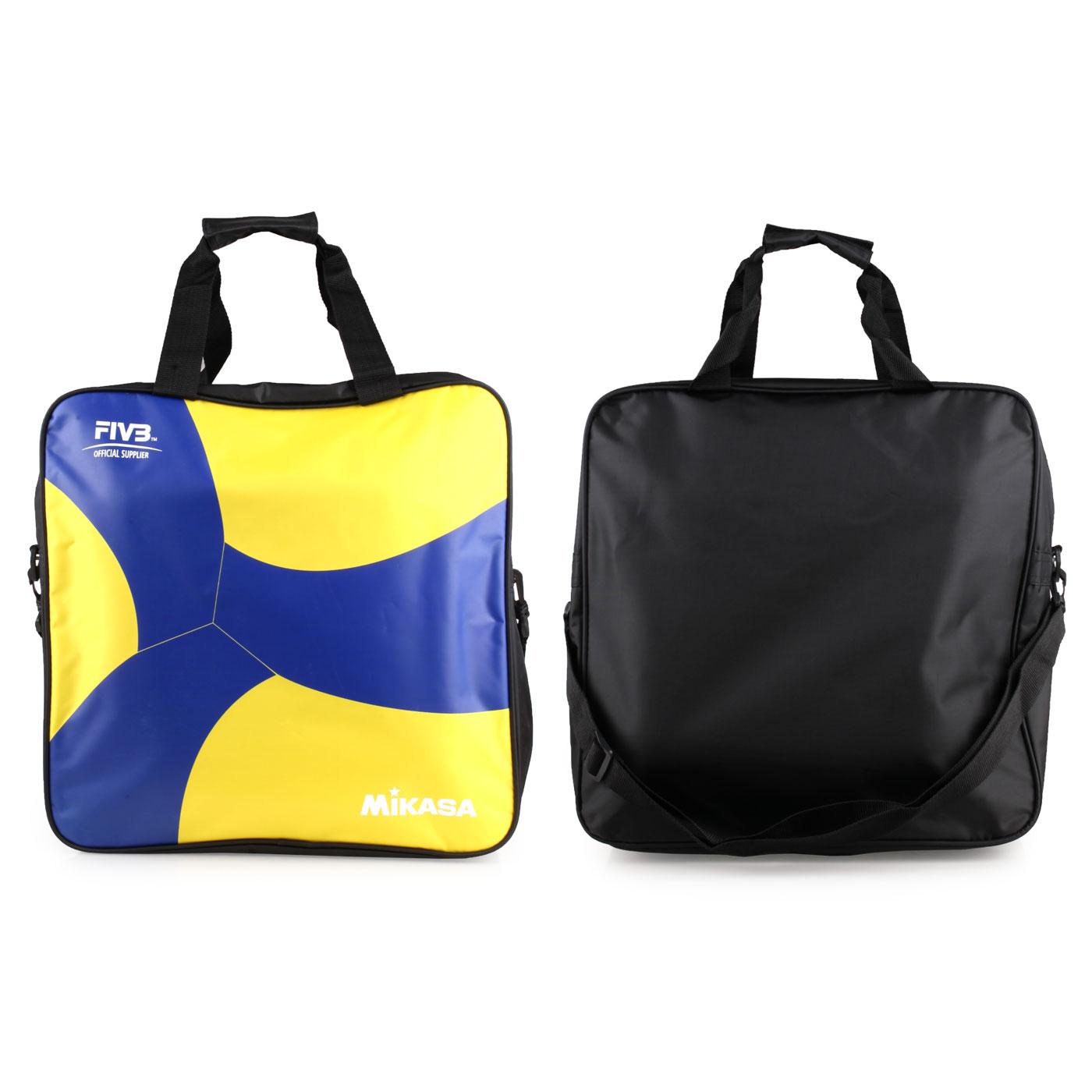 MIKASA 排球袋(4顆裝) MKAC-BG240W-YB - 藍黃黑
