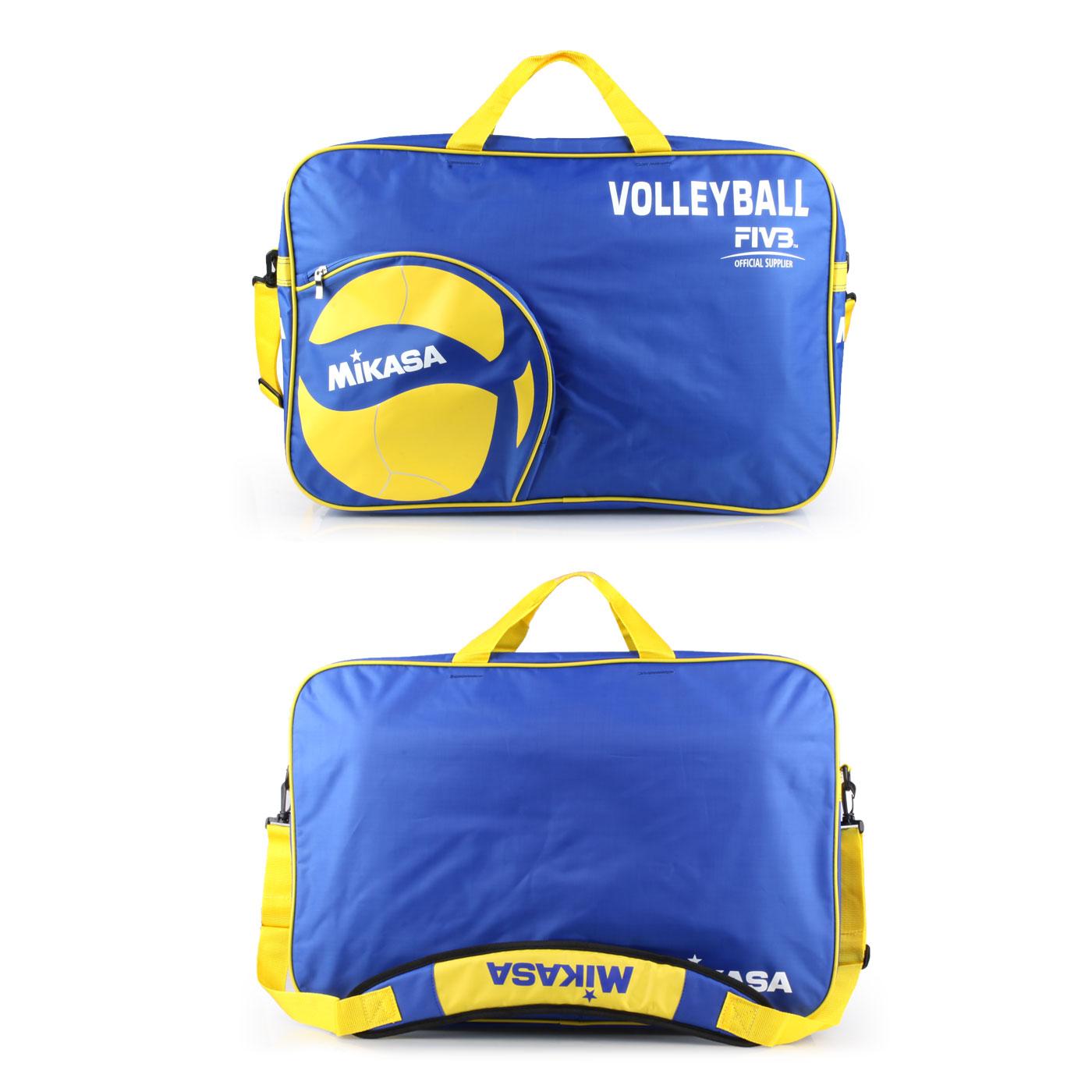 MIKASA 排球袋(6顆裝) MKAC-BG260W-BL - 藍黃