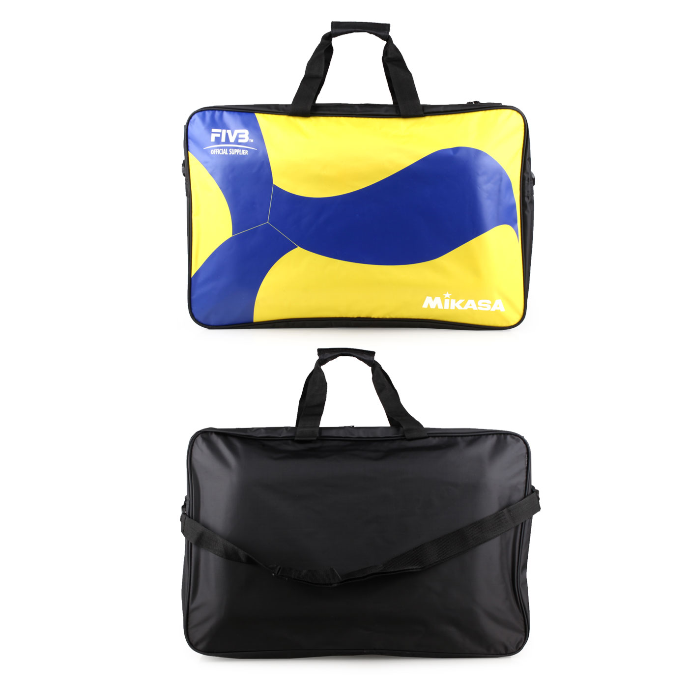 MIKASA 排球袋(6顆裝) MKAC-BG260W-YB - 藍黃黑