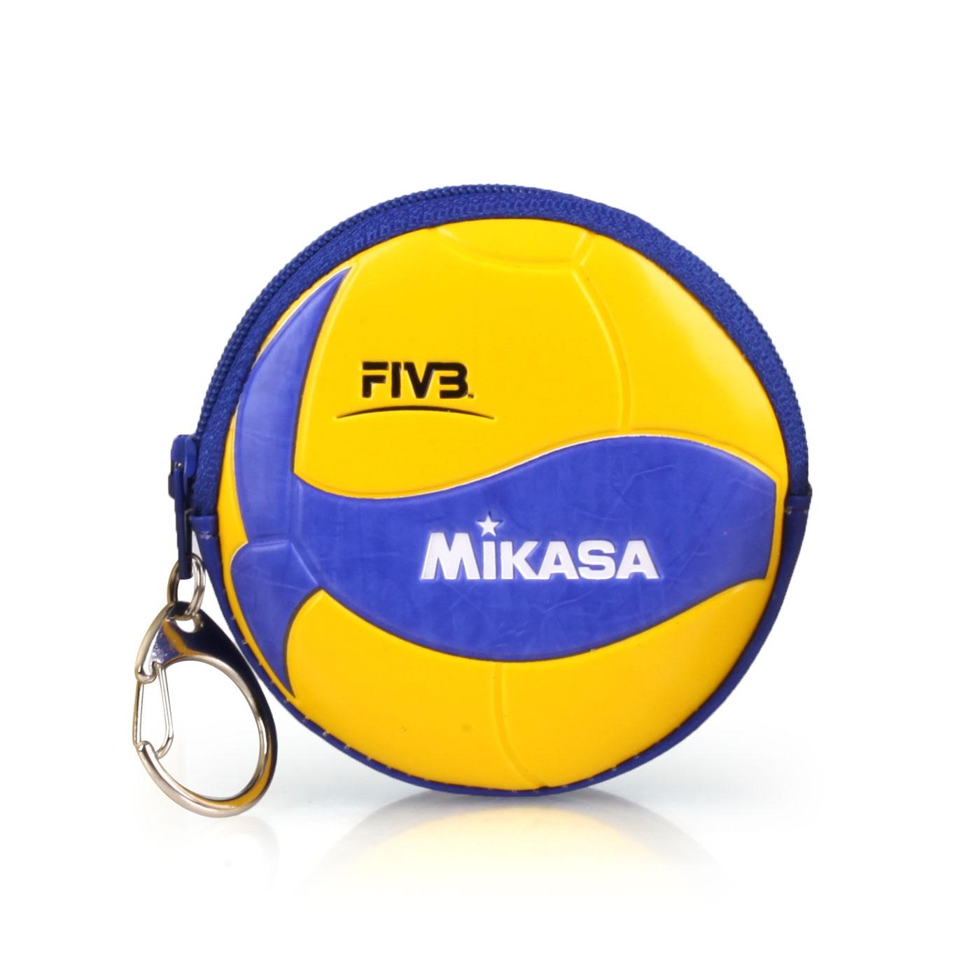MIKASA 零錢包 MKAC-CP200W - 黃藍