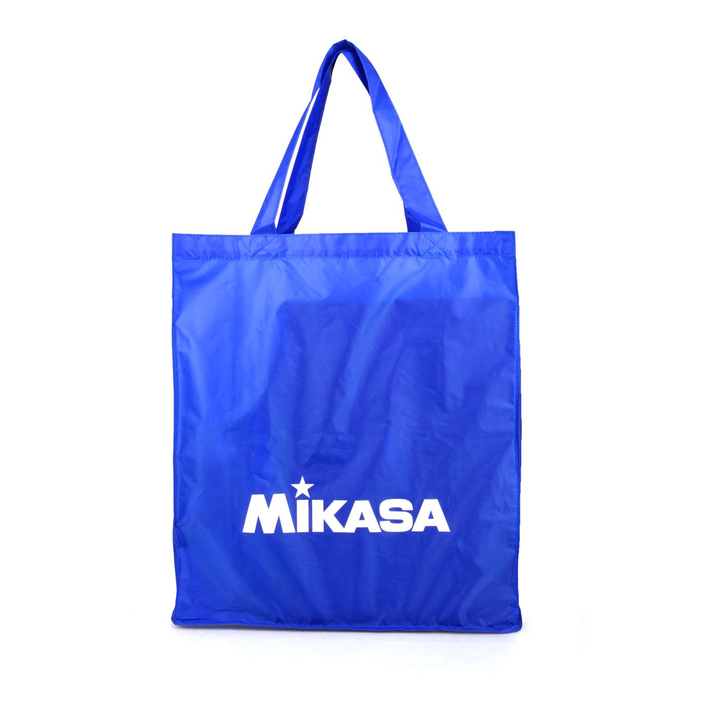 MIKASA 摺疊購物袋 MKBA21-BL - 藍白