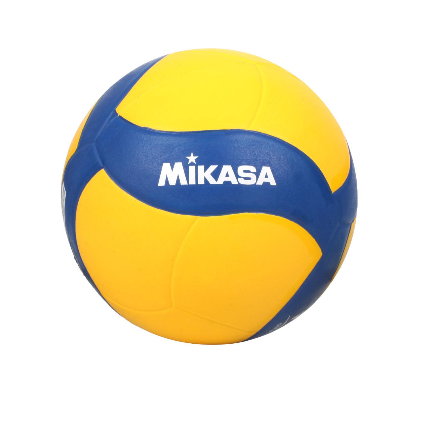 MIKASA 螺旋形軟橡膠排球 #5 MKV020WS - 黃藍