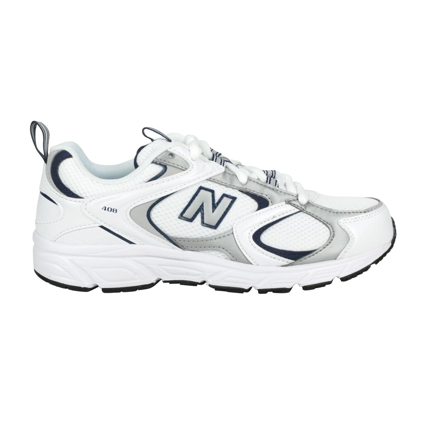 NEW BALANCE 女款復古運動鞋 ML408A - 白丈青