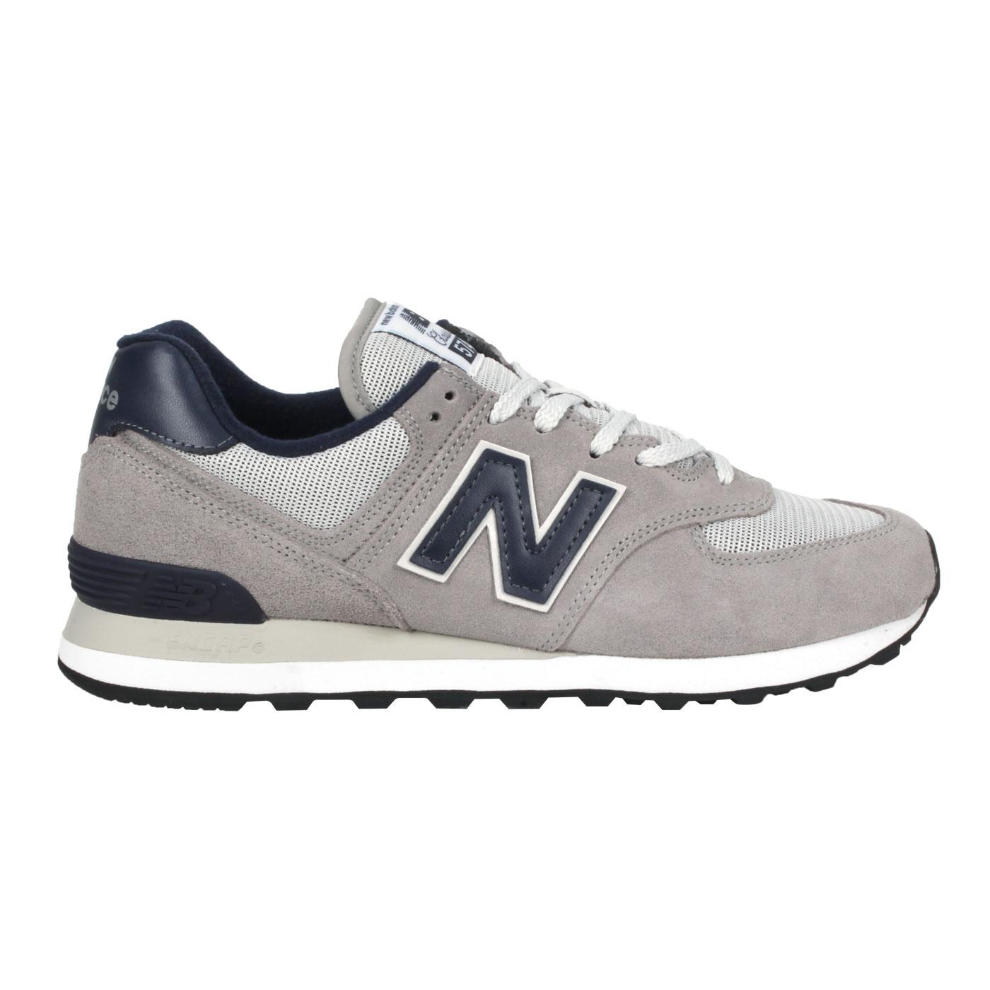 NEW BALANCE 男款休閒運動鞋 ML574BE2 - 灰丈青