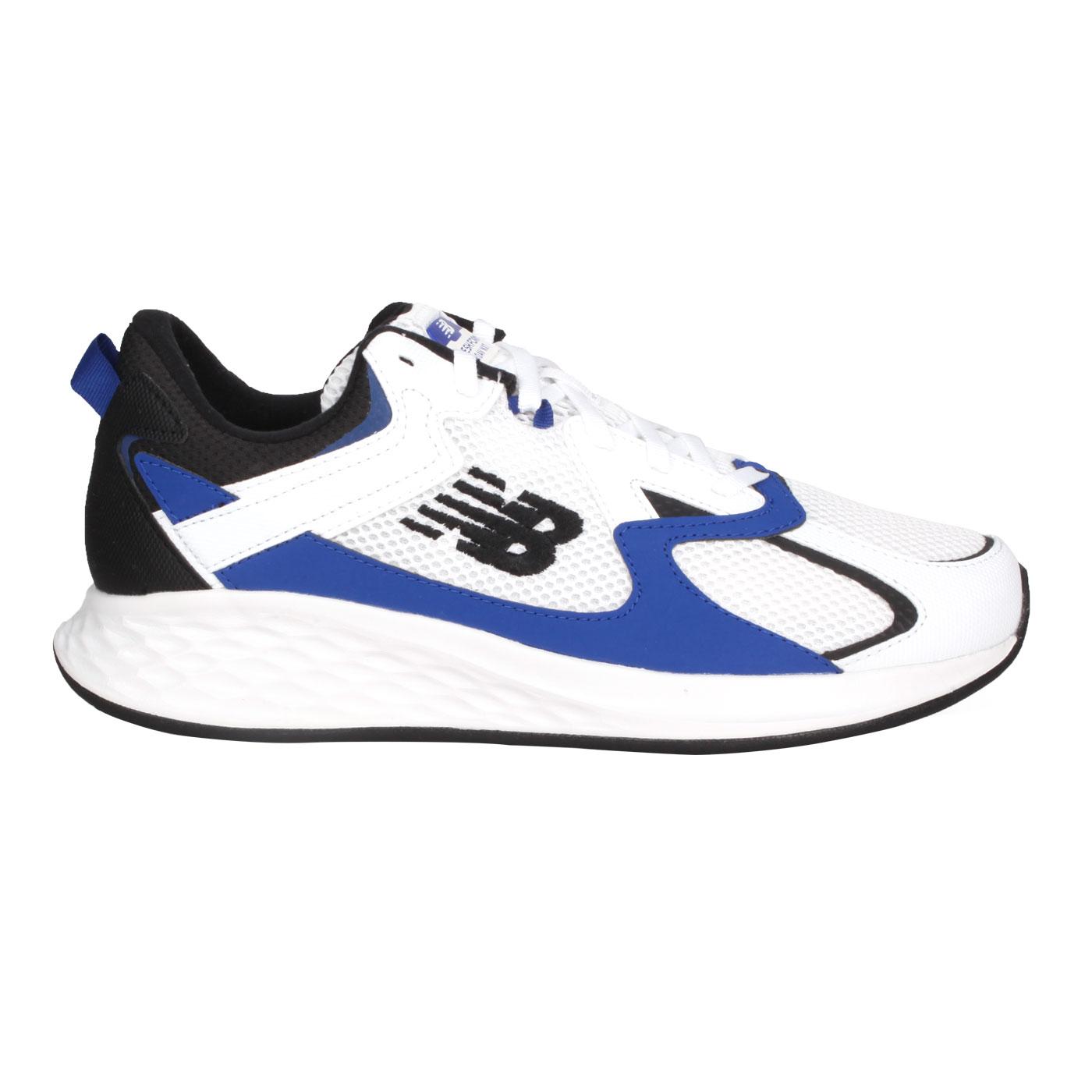 NEW BALANCE 男款慢跑鞋-2E MRNXTLW - 白藍黑