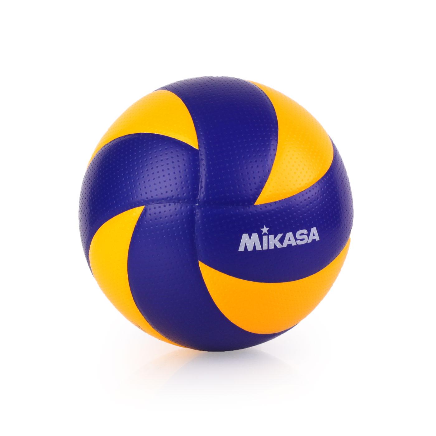 MIKASA 超纖皮製練習型排球 #5 MVA300 - 藍黃