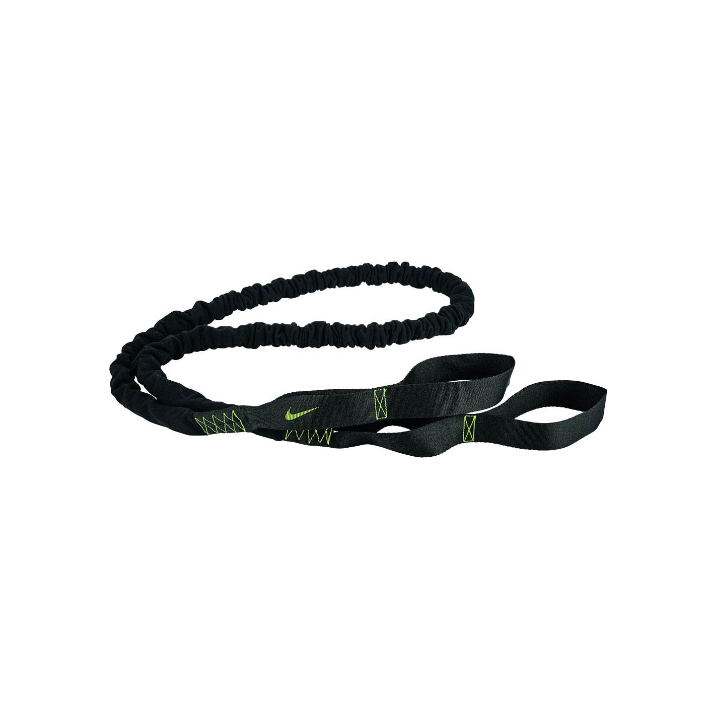 NIKE 抗阻彈力繩 20lbs N0000009023OS - 黑綠