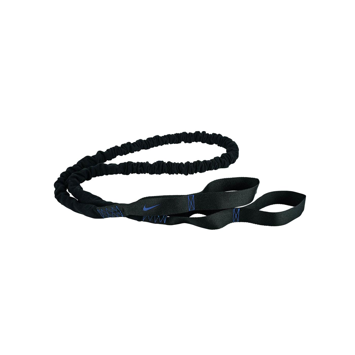 NIKE 抗阻彈力繩 40lbs N0000011033OS - 黑藍
