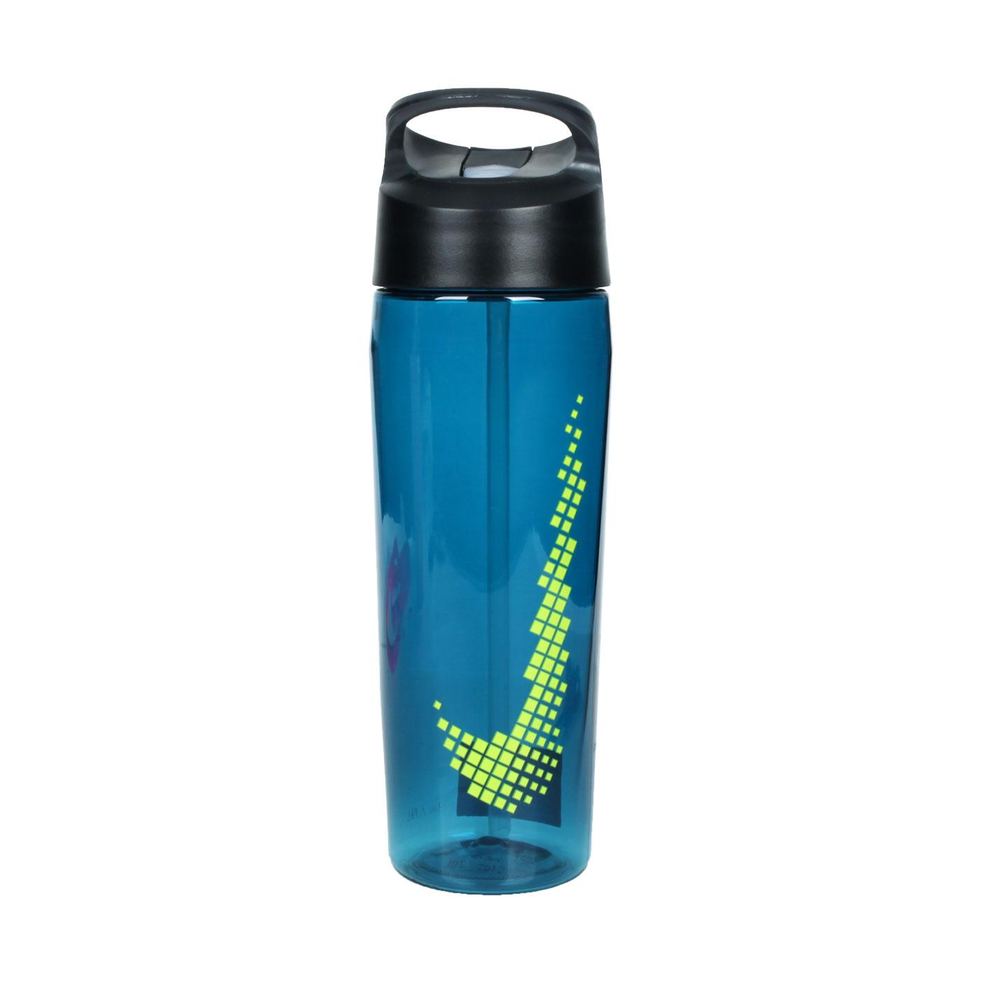NIKE 吸管水壺24OZ N000003430924 - 藍綠