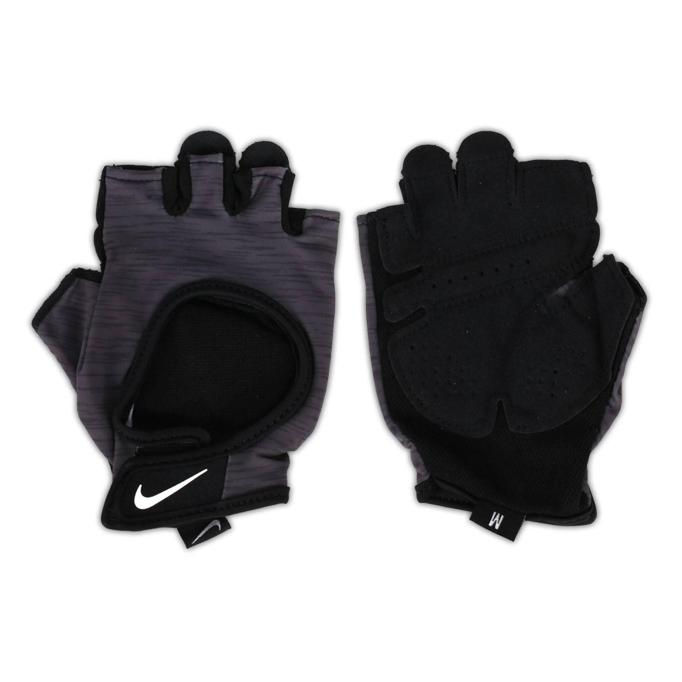 NIKE 女子中階訓練手套 N0002555051LG - 黑灰白