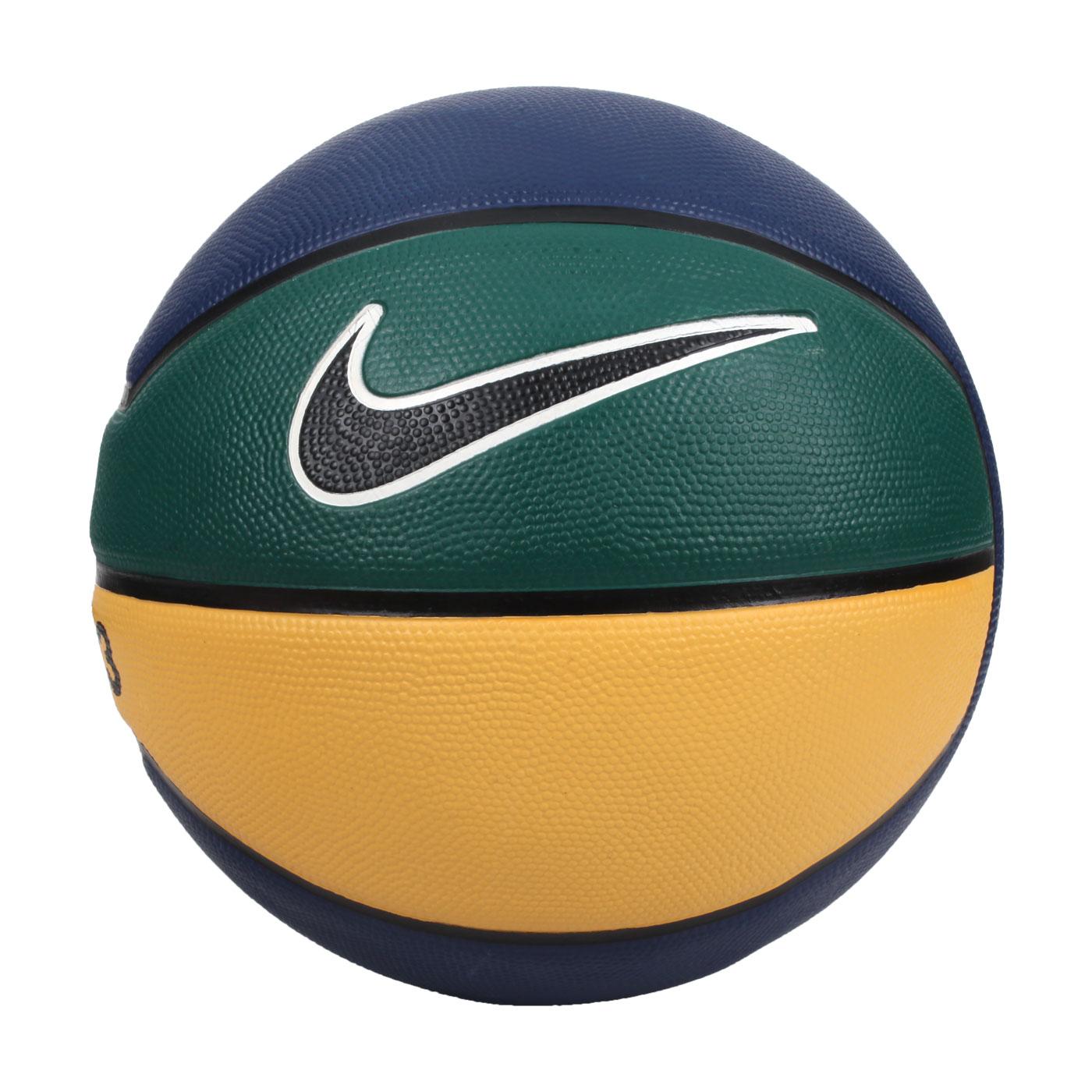NIKE LEBRON PLAYGROUND 4P 7號籃球 N000278449007 - 丈青黃綠